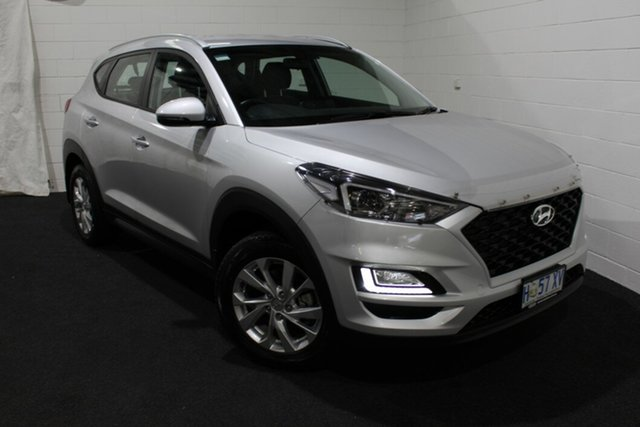 Used Hyundai Tucson TL3 MY19 Active X 2WD, 2018 Hyundai Tucson TL3 MY19 Active X 2WD Silver 6 Speed Automatic Wagon