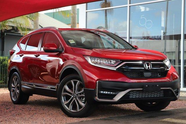 New Honda CR-V RW MY21 VTi 4WD LX AWD Caloundra, 2020 Honda CR-V RW MY21 VTi 4WD LX AWD Ignite Red 1 Speed Constant Variable Wagon