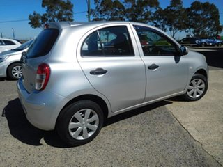 2012 Nissan Micra K13 ST Silver 5 Speed Manual Hatchback
