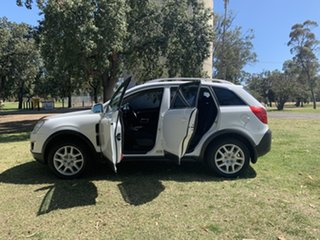 2013 Holden Captiva CG MY13 5 LT White 6 Speed Sports Automatic Wagon