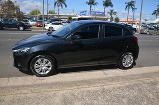 2015 Mazda 2 DJ MY16 Neo Black 6 Speed Automatic Hatchback.