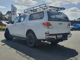 2012 Mazda BT-50 UP0YF1 XTR White 6 Speed Sports Automatic Utility.