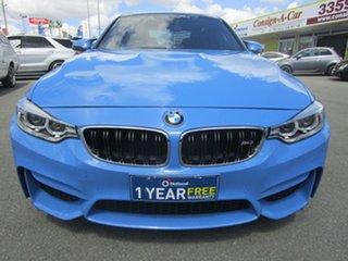 2014 BMW M3 F80 M-DCT Blue 7 Speed Sports Automatic Dual Clutch Sedan