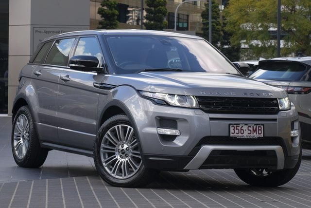 Used Land Rover Range Rover Evoque L538 MY12 Si4 CommandShift Prestige, 2011 Land Rover Range Rover Evoque L538 MY12 Si4 CommandShift Prestige Grey 6 Speed Sports Automatic