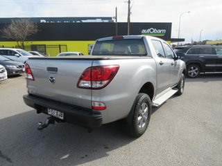 2015 Mazda BT-50 UP0YF1 XT 4x2 Hi-Rider Silver 6 Speed Sports Automatic Utility