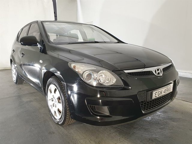 Used Hyundai i30 FD MY11 SX, 2011 Hyundai i30 FD MY11 SX Black 4 Speed Automatic Hatchback