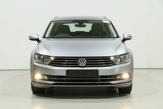 2018 Volkswagen Passat 3C MY18.5 132 TSI Comfortline Silver 7 Speed Auto Direct Shift Wagon.