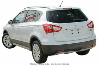 2019 Suzuki S-Cross JY Turbo Cool White 6 Speed Sports Automatic Hatchback.