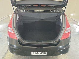 2011 Hyundai i30 FD MY11 SX Black 4 Speed Automatic Hatchback