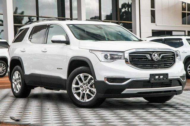Used Holden Acadia AC MY19 LT AWD, 2019 Holden Acadia AC MY19 LT AWD Summit White 9 Speed Sports Automatic Wagon