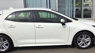 2018 Toyota Corolla Mzea12R Ascent Sport White 10 Speed Constant Variable Hatchback.