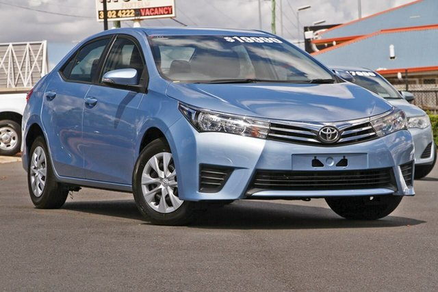 Used Toyota Corolla ZRE182R Ascent S-CVT, 2016 Toyota Corolla ZRE182R Ascent S-CVT Blue 7 Speed Constant Variable Hatchback