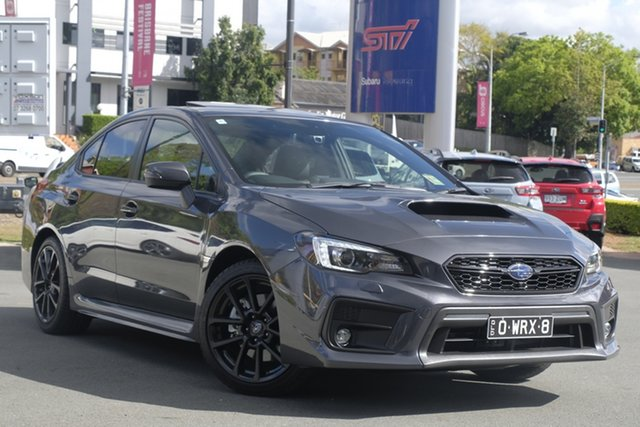 Demo Subaru WRX V1 MY20 Premium AWD, 2020 Subaru WRX V1 MY20 Premium AWD Magnetite Grey 6 Speed Manual Sedan