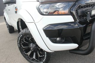 2015 Ford Ranger PX MkII XLS Double Cab White 6 Speed Sports Automatic Double Cab Pick Up.