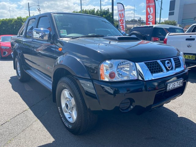 Used Nissan Navara D22 S5 ST-R, 2014 Nissan Navara D22 S5 ST-R Black 5 Speed Manual Utility