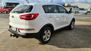 2010 Kia Sportage S White 5 Speed Manual Hatchback