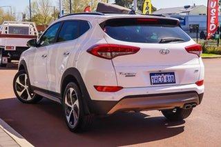 2016 Hyundai Tucson TLE Highlander AWD White 6 Speed Sports Automatic Wagon.