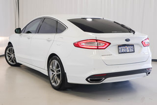2016 Ford Mondeo MD Trend White 6 Speed Sports Automatic Hatchback.