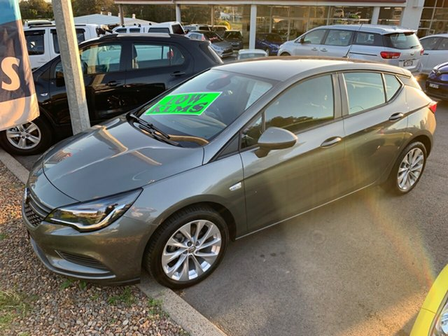 Used Holden Astra BK MY19 R+, 2018 Holden Astra BK MY19 R+ Grey 6 Speed Sports Automatic Hatchback