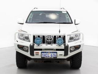 2011 Toyota Landcruiser Prado GRJ150R Kakadu (4x4) White 5 Speed Sequential Auto Wagon.