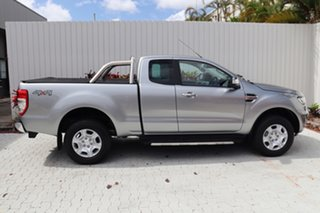 2018 Ford Ranger PX MkII 2018.00MY XLT Super Cab Silver 6 Speed Sports Automatic Utility.