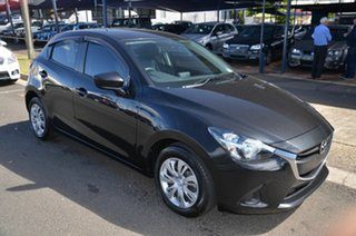 2015 Mazda 2 DJ MY16 Neo Black 6 Speed Automatic Hatchback