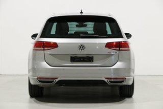 2016 Volkswagen Passat 3C MY16 132 TSI Comfortline Silver 7 Speed Auto Direct Shift Wagon