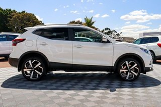 2019 Nissan Qashqai J11 Series 2 Ti X-tronic Ivory Pearl 1 Speed Constant Variable Wagon.