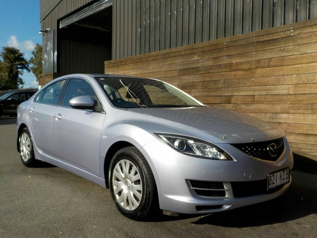 Used Mazda 6 GH1051 Limited, 2008 Mazda 6 GH1051 Limited Silver 5 Speed Sports Automatic Sedan