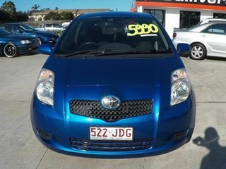 2005 Toyota Yaris 90 SERIES YRS Blue 4 Speed Automatic Hatchback.