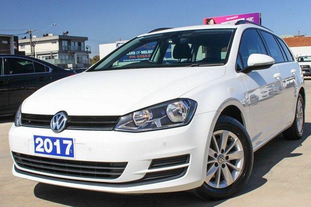 Used Volkswagen Golf VII MY17 92TSI DSG Trendline, 2017 Volkswagen Golf VII MY17 92TSI DSG Trendline White 7 Speed Sports Automatic Dual Clutch Wagon