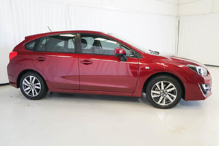 2016 Subaru Impreza G4 MY16 2.0i Lineartronic AWD Premium Red 6 Speed Constant Variable Hatchback.