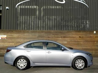 2008 Mazda 6 GH1051 Limited Silver 5 Speed Sports Automatic Sedan.