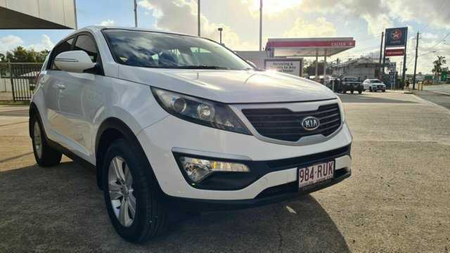 Used Kia Sportage S Bowen, 2010 Kia Sportage S White 5 Speed Manual Hatchback