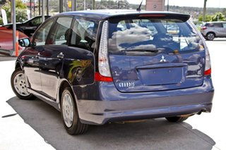 2008 Mitsubishi Grandis BA MY08 LS Blue 4 Speed Sports Automatic Wagon.