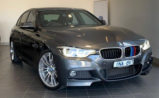 Used BMW 3 Series F30 LCI 320i Sport Line, 2016 BMW 3 Series F30 LCI 320i Sport Line Grey 8 Speed Sports Automatic Sedan