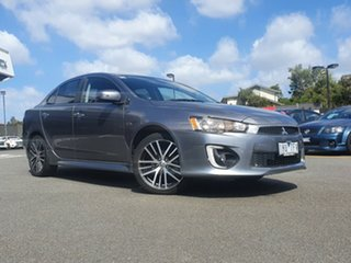2016 Mitsubishi Lancer CF MY16 GSR Grey 6 Speed Constant Variable Sedan