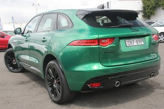 2016 Jaguar F-PACE X761 MY17 30d AWD R-Sport Green 8 Speed Sports Automatic Wagon