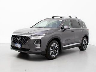 2020 Hyundai Santa Fe TM.2 MY20 Highlander CRDi Blk-BGE (AWD) Grey 8 Speed Automatic Wagon