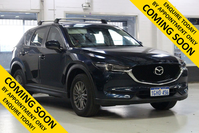 Used Mazda CX-5 MY17.5 (KF Series 2) Touring (4x4), 2017 Mazda CX-5 MY17.5 (KF Series 2) Touring (4x4) Blue 6 Speed Automatic Wagon