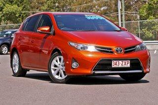 2015 Toyota Corolla ZRE182R Ascent Sport S-CVT Orange 7 Speed Constant Variable Hatchback.