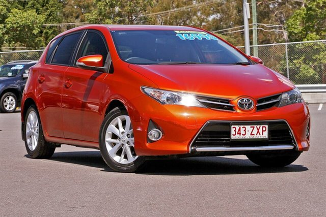 Used Toyota Corolla ZRE182R Ascent Sport S-CVT, 2015 Toyota Corolla ZRE182R Ascent Sport S-CVT Orange 7 Speed Constant Variable Hatchback