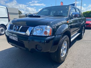 2014 Nissan Navara D22 S5 ST-R Black 5 Speed Manual Utility