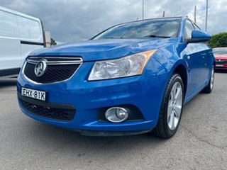 2014 Holden Cruze JH Series II MY14 Equipe Blue 5 Speed Manual Sedan.
