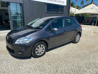 2012 Toyota Corolla ZRE152R MY11 Ascent Sport Grey 4 Speed Automatic Hatchback.