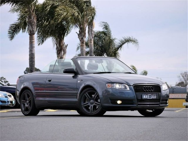 Used Audi A4 B7 S Line, 2007 Audi A4 B7 S Line Sports Automatic Cabriolet