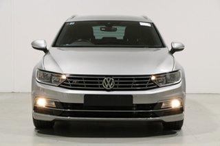 2016 Volkswagen Passat 3C MY16 132 TSI Comfortline Silver 7 Speed Auto Direct Shift Wagon.