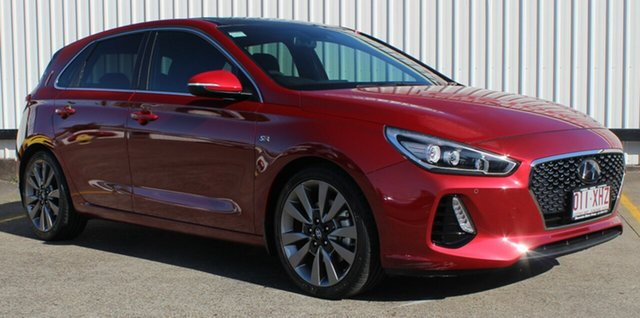 Used Hyundai i30 PD MY18 SR D-CT Premium, 2017 Hyundai i30 PD MY18 SR D-CT Premium Red 7 Speed Sports Automatic Dual Clutch Hatchback