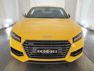 2015 Audi TTS FV MY16 S Tronic Quattro Vegas Yellow 6 Speed Sports Automatic Dual Clutch Coupe.