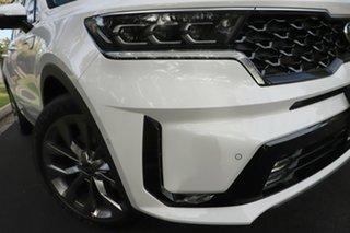 2021 Kia Sorento MQ4 MY21 GT-Line 7 Seat Clear White 8 Speed Auto Sports-Matic Wagon.